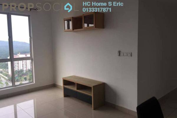 For Rent Condominium at Symphony Residence, Kajang Freehold Fully Furnished 3R/2B 1.1k