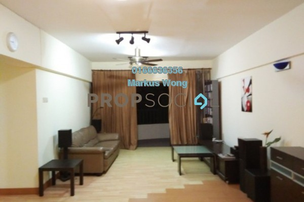 For Rent Apartment at Anjung Hijau, Bukit Jalil Freehold Fully Furnished 2R/2B 1.35k
