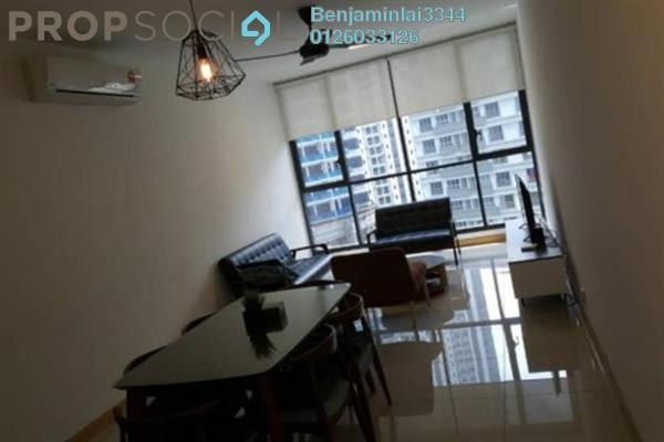 For Rent Serviced Residence at KL Gateway, Bangsar South Freehold Fully Furnished 2R/2B 3.5k