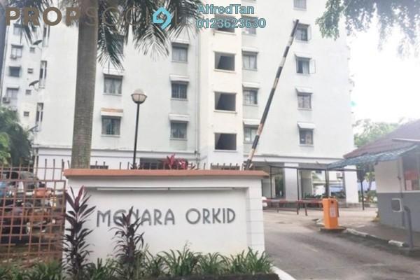 For Rent Apartment at Menara Orkid, Sentul Freehold Unfurnished 2R/2B 1.1k