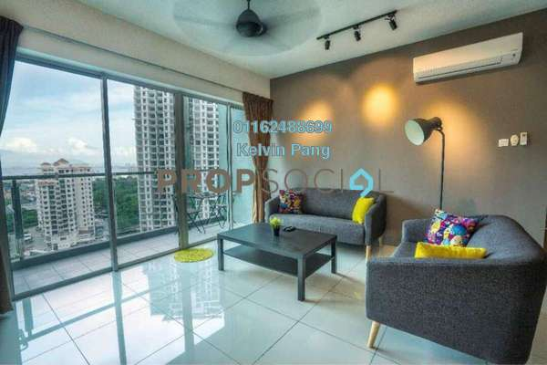 For Rent Condominium at The Latitude, Tanjung Tokong Freehold Fully Furnished 3R/2B 2.5k