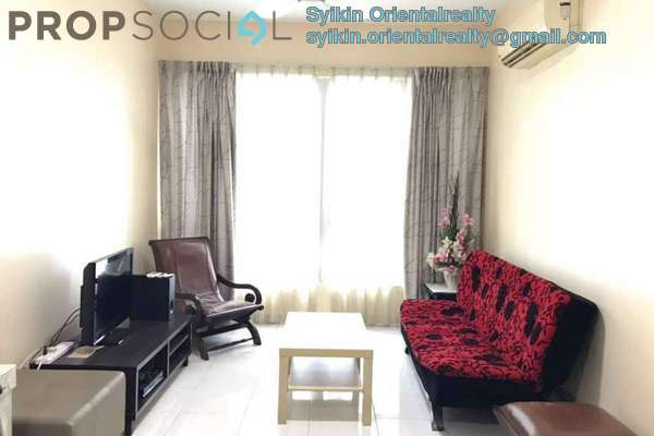 For Sale Condominium at Casa Tiara, Subang Jaya Freehold Fully Furnished 3R/2B 600k