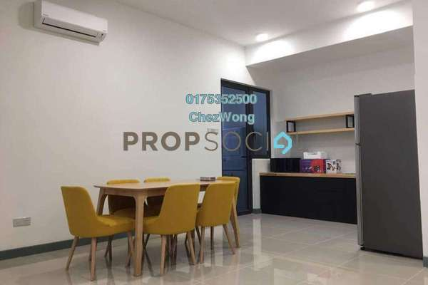 For Rent Serviced Residence at South View, Bangsar South Freehold Fully Furnished 3R/2B 3.1k