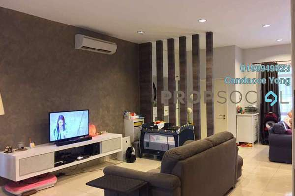 For Sale Superlink at Setia Indah, Setia Alam Freehold Semi Furnished 4R/3B 830k