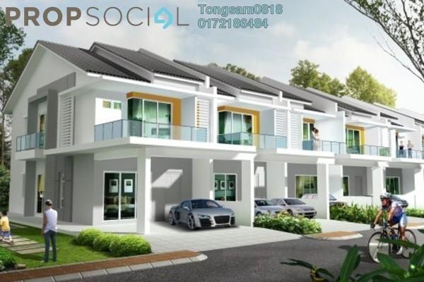 For Sale Terrace at Bangi Perdana, Bandar Baru Bangi Freehold Unfurnished 4R/4B 350k