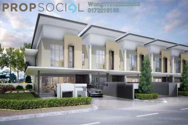 For Sale Terrace at Taman Persiaran Bangi, Bangi Freehold Fully Furnished 5R/4B 386k