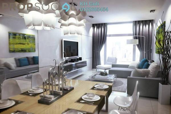 For Sale Serviced Residence at Pacific Star, Petaling Jaya Freehold Semi Furnished 1R/1B 670k
