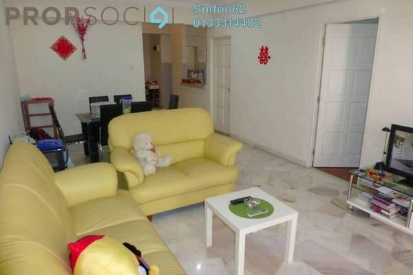 For Sale Condominium at La Villas Condominium, Setapak Freehold Semi Furnished 3R/2B 370k