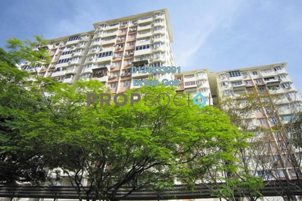 For Rent Apartment at Taman Lebah Hijau, Green Lane Freehold Semi Furnished 3R/2B 300translationmissing:en.pricing.unit