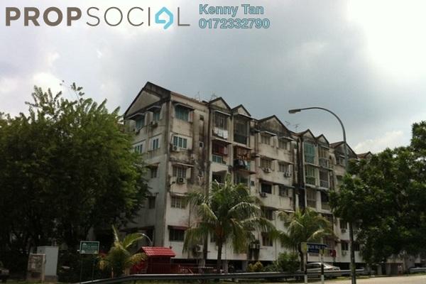 For Sale Apartment at Taman Lembah Maju, Pandan Indah Leasehold Semi Furnished 3R/2B 300k