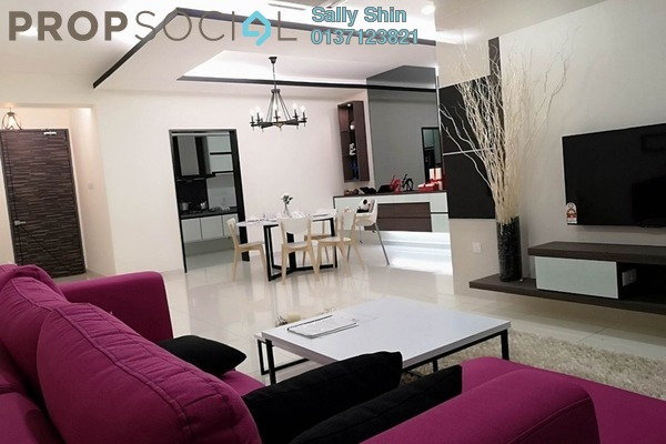 For Sale Condominium at E Park Residences, Sungai Buloh Freehold Semi Furnished 3R/2B 450k