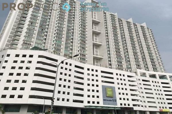 For Sale Serviced Residence at Menara U2, Shah Alam Leasehold Semi Furnished 2R/1B 300k