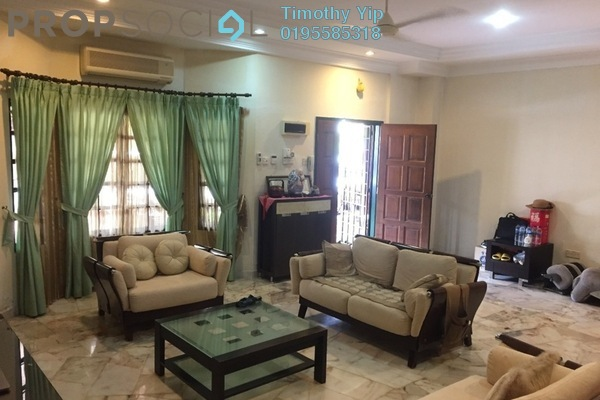 For Sale Terrace at SL4, Bandar Sungai Long Freehold Fully Furnished 4R/3B 750k