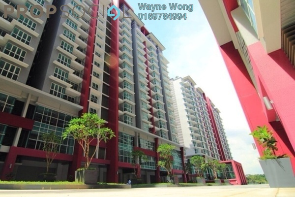 For Rent Serviced Residence at Pacific Place, Ara Damansara Freehold Semi Furnished 2R/2B 1.5k