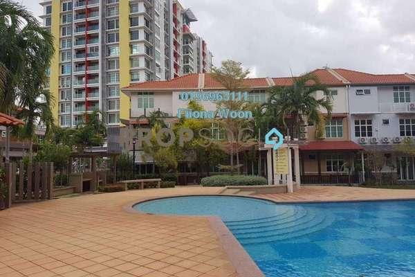 For Rent Condominium at Bukit Baru, Bandar Melaka Freehold Fully Furnished 4R/2B 2.5k