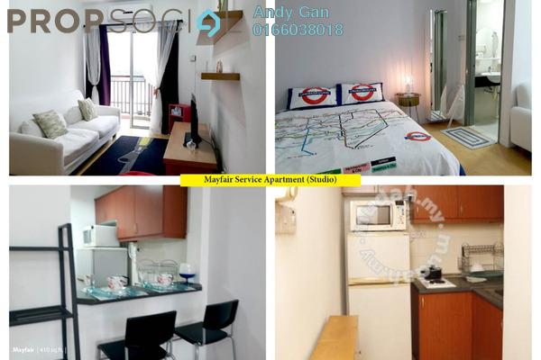 For Rent SoHo/Studio at Mayfair, Sri Hartamas Freehold Fully Furnished 1R/1B 1.5k