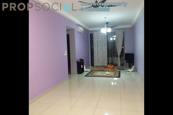 For Sale Condominium at D'Aman Residences, Puchong Freehold Semi Furnished 3R/2B 430k