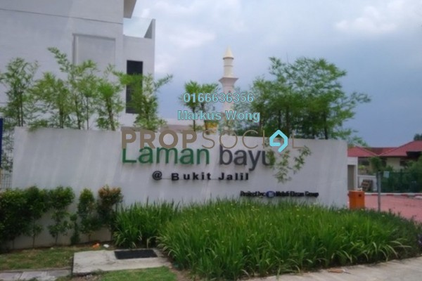 For Sale Terrace at Laman Bayu, Bukit Jalil Freehold Unfurnished 4R/5B 1.6m