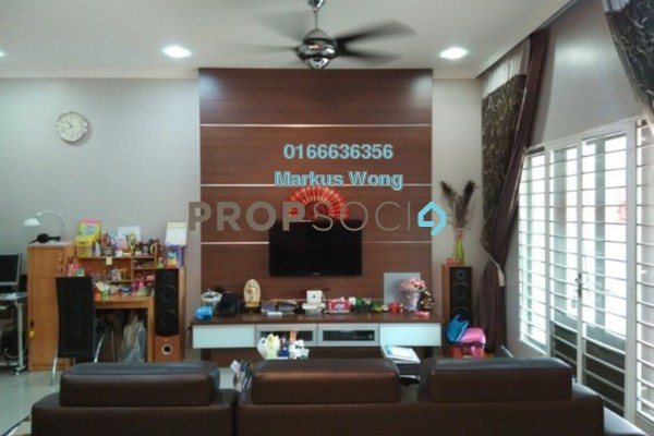 For Sale Terrace at BK9, Bandar Kinrara Freehold Fully Furnished 4R/3B 1.1m
