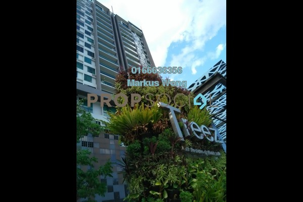 For Sale Condominium at The Treez, Bukit Jalil Freehold Fully Furnished 3R/3B 1.85m