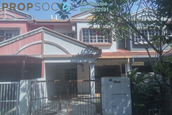 For Sale Terrace at Puncak Perdana, Shah Alam Freehold Semi Furnished 4R/3B 470k