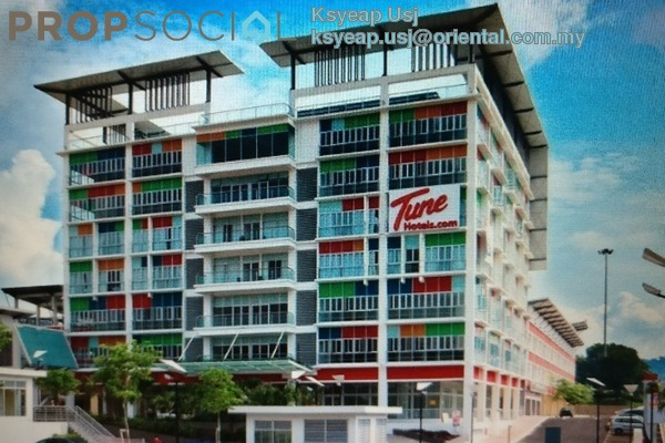 For Sale Office at Sunsuria Avenue, Kota Damansara Freehold Semi Furnished 0R/0B 840k