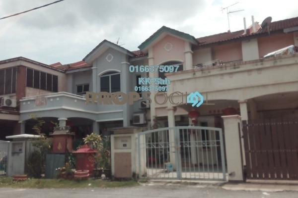 For Sale Link at Taman Suria Pendamar, Port Klang Freehold Semi Furnished 4R/3B 359k