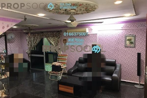 For Sale Link at Taman Sentosa, Klang Freehold Semi Furnished 4R/3B 520k