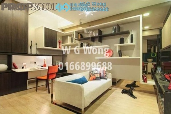 For Rent Serviced Residence at VERVE Suites, Mont Kiara Freehold Fully Furnished 1R/1B 2.75k