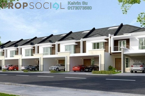 For Sale Terrace at East Lake Residence, Seri Kembangan Freehold Fully Furnished 4R/3B 539k
