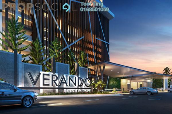 For Sale Condominium at Verando Residence, Petaling Jaya Freehold Semi Furnished 3R/2B 450k
