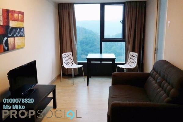For Rent SoHo/Studio at Empire City, Damansara Perdana Freehold Fully Furnished 1R/1B 1.25k