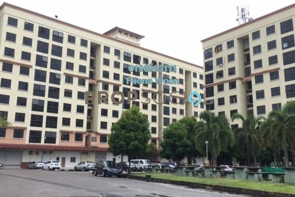 For Sale Apartment at Pangsapuri Bukit Beruang Utama, Bukit Beruang Freehold Semi Furnished 4R/2B 239k