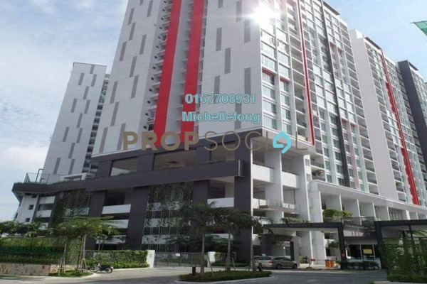 For Rent Serviced Residence at Greenfield Regency, Skudai Freehold Fully Furnished 1R/1B 1.2k