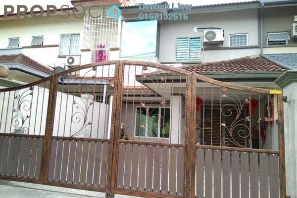 For Sale Link at Mahkota Walk, Bandar Mahkota Cheras Freehold Unfurnished 4R/3B 649k