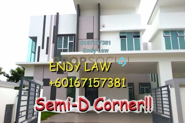 For Sale Semi-Detached at Luciana, Setia Eco Gardens Freehold Unfurnished 6R/6B 1.4m