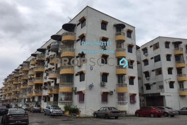 For Rent Apartment at Taman Kesidang Seksyen 1, Melaka Freehold Semi Furnished 3R/2B 1k