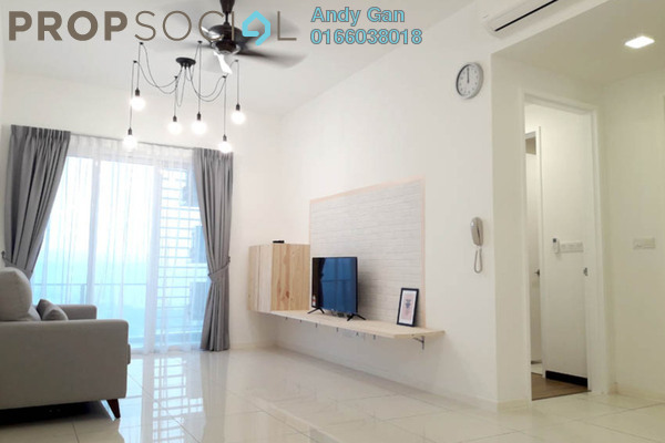 For Rent Condominium at EcoSky, Jalan Ipoh Freehold Fully Furnished 2R/2B 1.8k