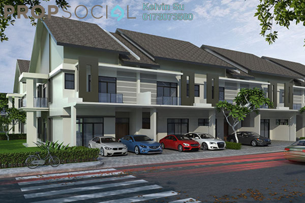 For Sale Terrace at Bukit Gita Bayu, Seri Kembangan Freehold Fully Furnished 4R/4B 349k