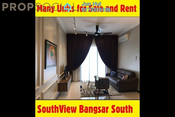 For Rent Condominium at South View, Bangsar South Freehold Fully Furnished 1R/1B 2.25k