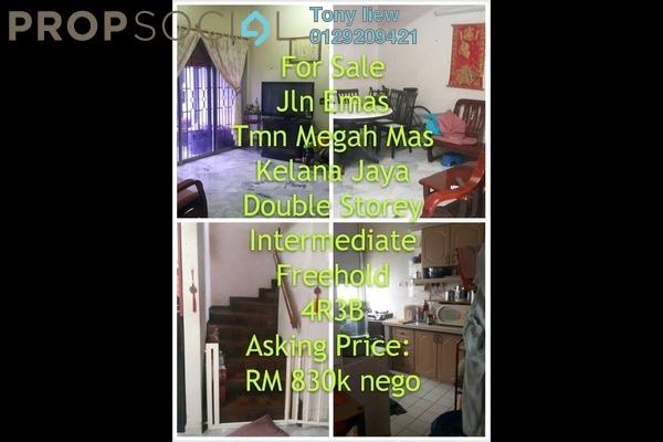 For Sale Terrace at Taman Megah, Kelana Jaya Freehold Semi Furnished 4R/3B 830k