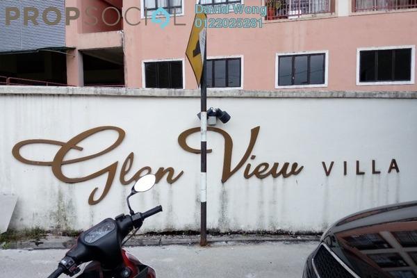 For Sale Condominium at Glen View Villa, Cheras Freehold Semi Furnished 3R/2B 410k