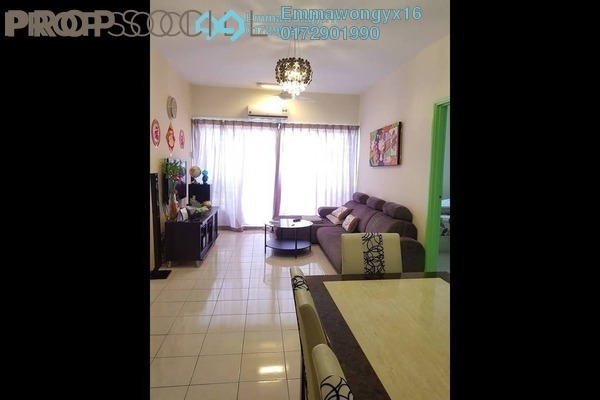 For Sale Condominium at Plaza Medan Putra, Bandar Menjalara Freehold Semi Furnished 3R/2B 378k