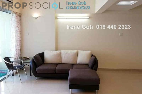 For Rent Condominium at Sri Perdana, Georgetown Freehold Fully Furnished 2R/2B 2k