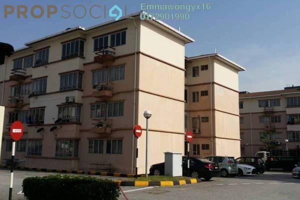 For Sale Apartment at SD Tiara Apartment, Bandar Sri Damansara Freehold Semi Furnished 3R/2B 310k