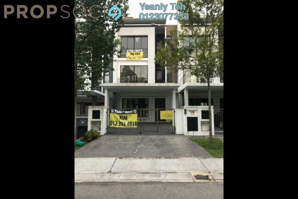 For Rent Superlink at Valencia, Sungai Buloh Freehold Fully Furnished 5R/5B 4.8k