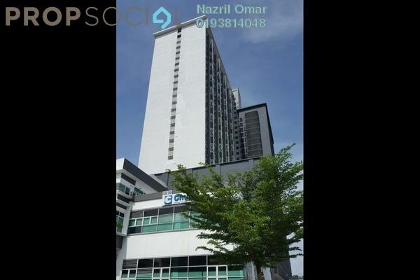 For Rent SoHo/Studio at Menara Geno, Subang Jaya Freehold Semi Furnished 1R/1B 1.15k