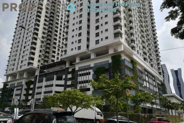 For Rent Condominium at Sentul Rafflesia, Sentul Freehold Semi Furnished 3R/2B 1.7k