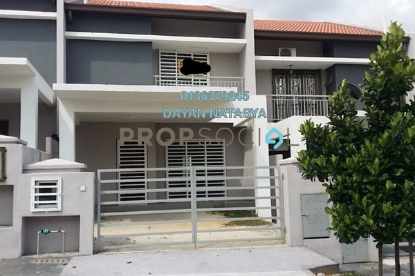 For Sale Terrace at Aman Putri, Sungai Buloh Freehold Unfurnished 4R/3B 465k