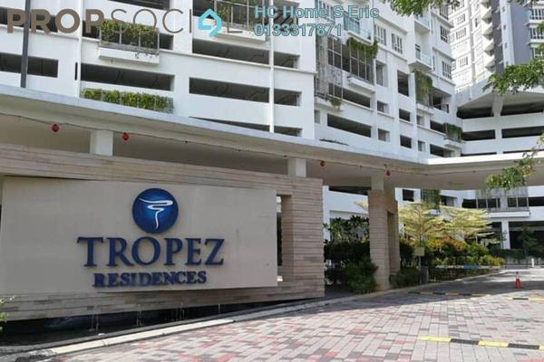 For Sale Serviced Residence at Tropez Residences, Danga Bay Freehold Semi Furnished 3R/2B 467k
